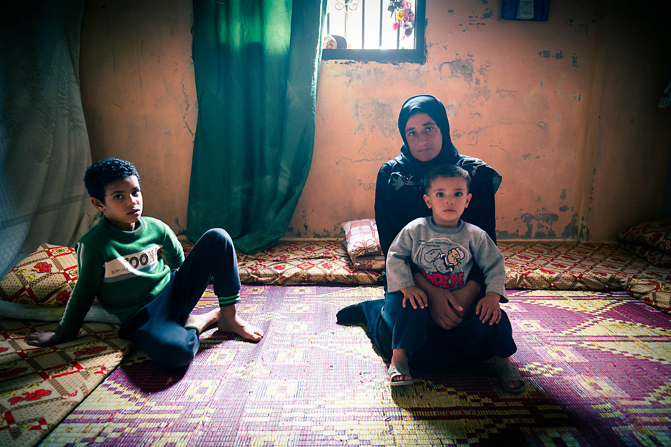 PALESTINIAN REFUGEE FAMILY 1